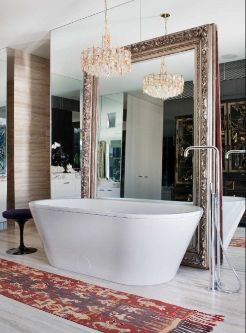 astonishing thick framed mirrors