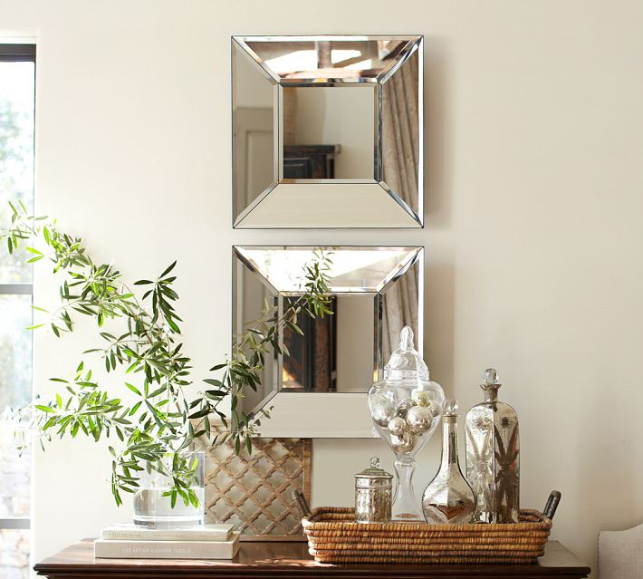 beautiful beveled mirror