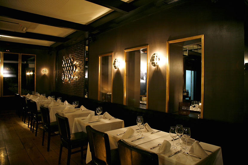 Attractive Large Mirror For Restaurants