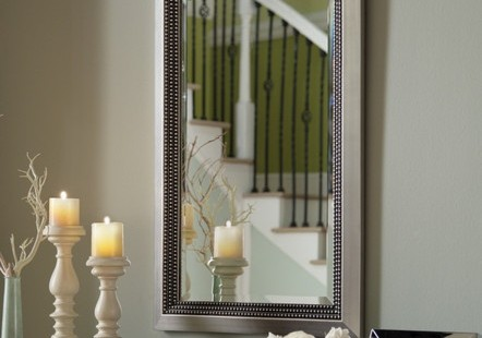 Richness Of Mirrors With Silver Frame