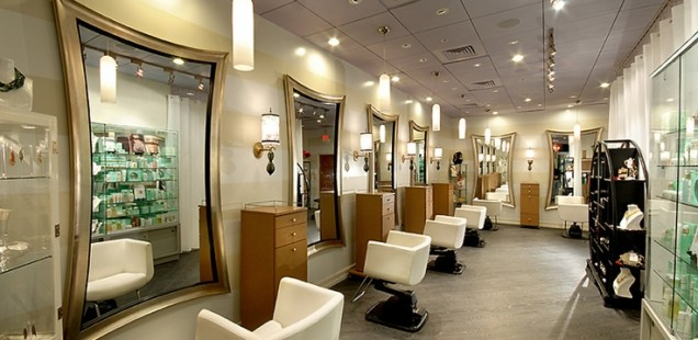 Image gallery modern salons for Photo salon moderne
