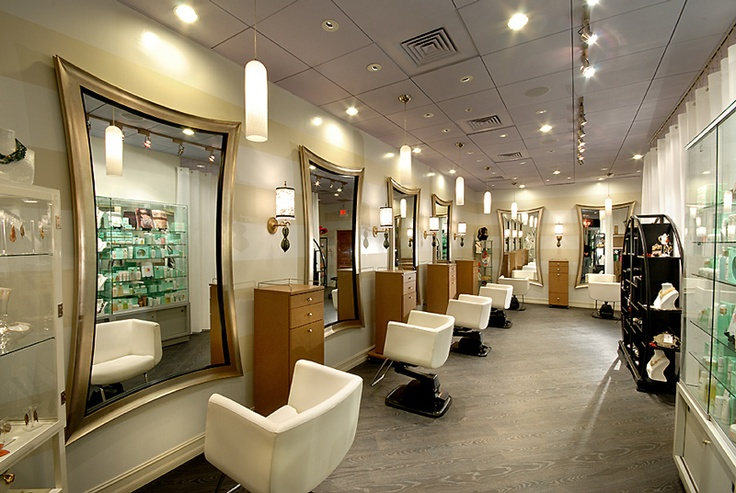 Modern mirror for salon to attract customers for Photo decoration salon design