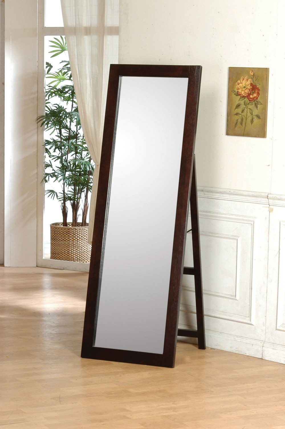 Delightful 7ft High Lean Mirror