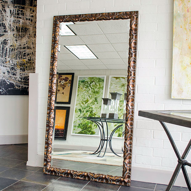 How to Decorate with Floor Mirrors