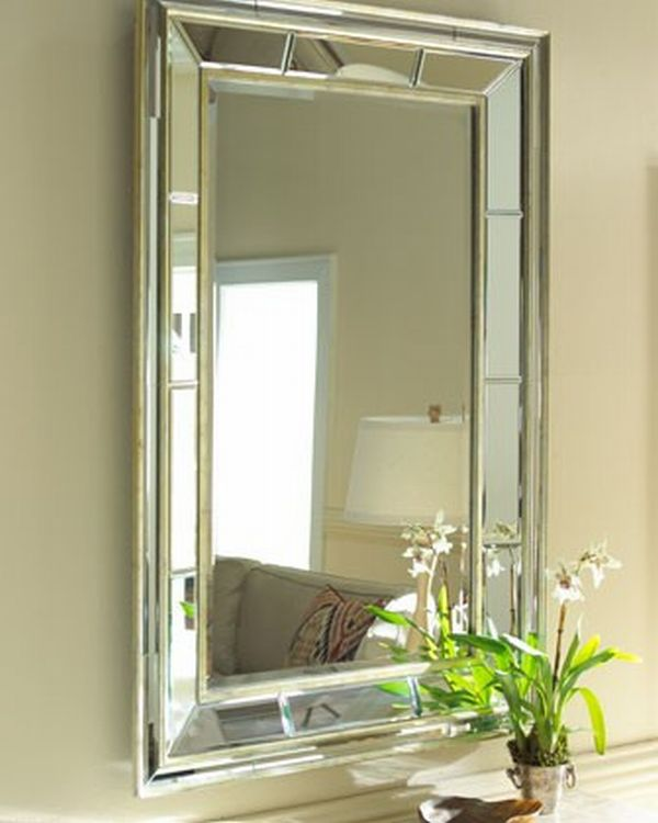 decorating the house with beveled mirrors
