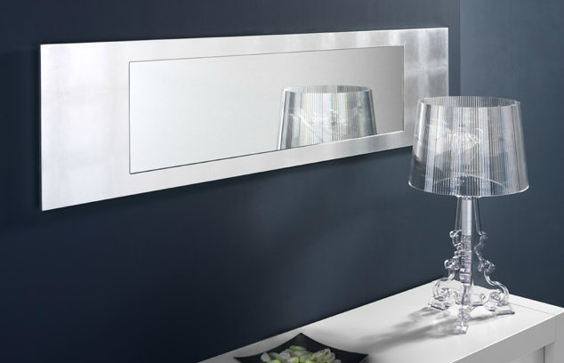 Horizontal Wall Mirror exquisite long mirrors for trendy walls