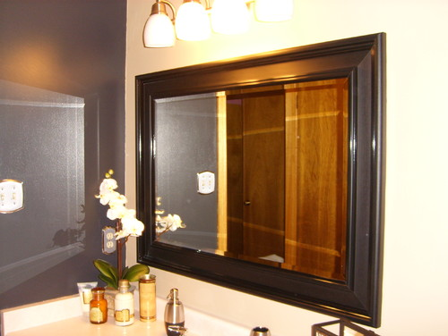 How to hang a large mirror for Hanging a large mirror