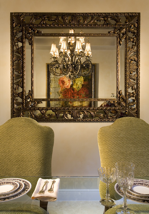 5 smart tips on where to put mirrors for Modern mirrors for dining room